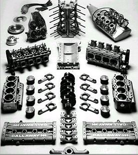 Callaway Indy Car Engine. Image courtesy of Callaway Cars.
