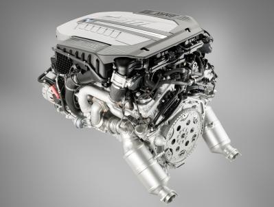 The BMW 6.0 V12 Twin Turbo. Photo courtesy of BMW.