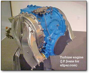 Automotive Gas Turbines – Then & Now